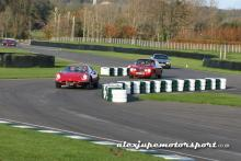 Goodwood trackday action with Dino and Alfa 2000 GTV